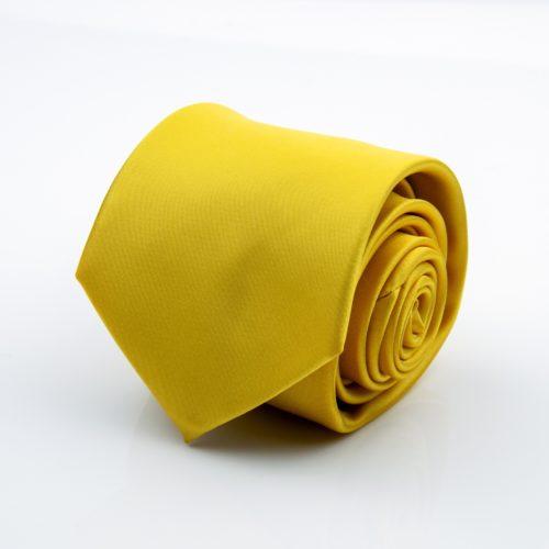 Žltá kravata